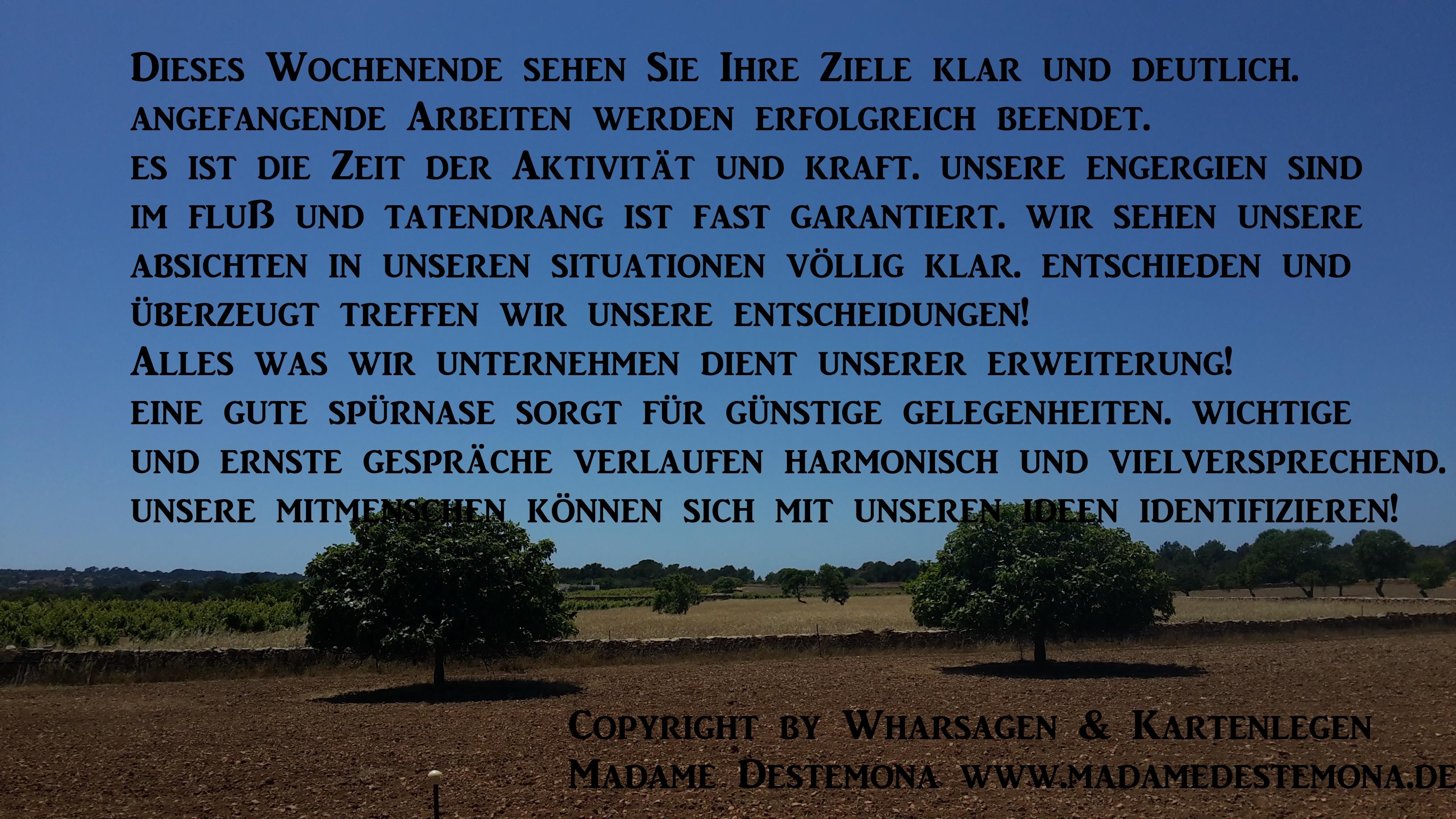 Wahrsagen – Kartenlegen Foto Copyright by Madame
