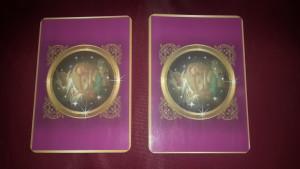"""Die Karten die ich benutze heißen """"Das Engel der liebe Orakel"""" copright by Doreen Virtue, Allegria Verlag"""
